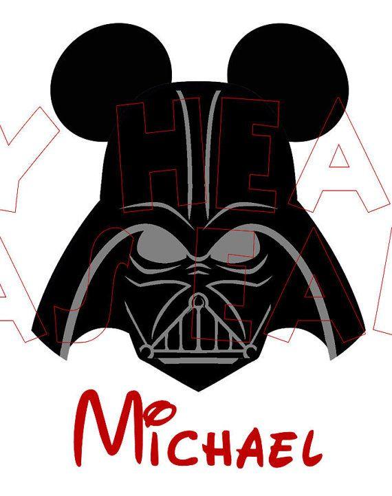 Printable digital clip art instant download Darth Vader with ...