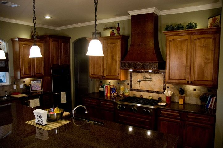 This kitchen is the work of the talented April Klinger ...