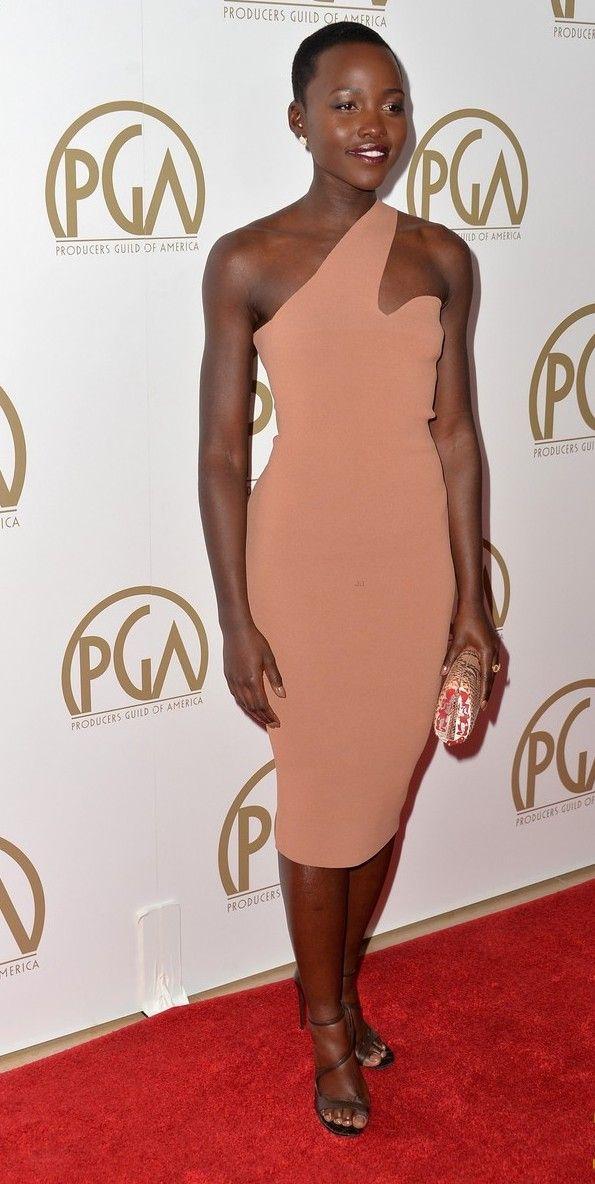 Lupita Nyong'o no Producers Guild Awards 2014 (19/01/14)