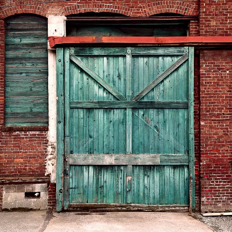 Fading Wooden Loading Door by Justin Schmauser on 500px