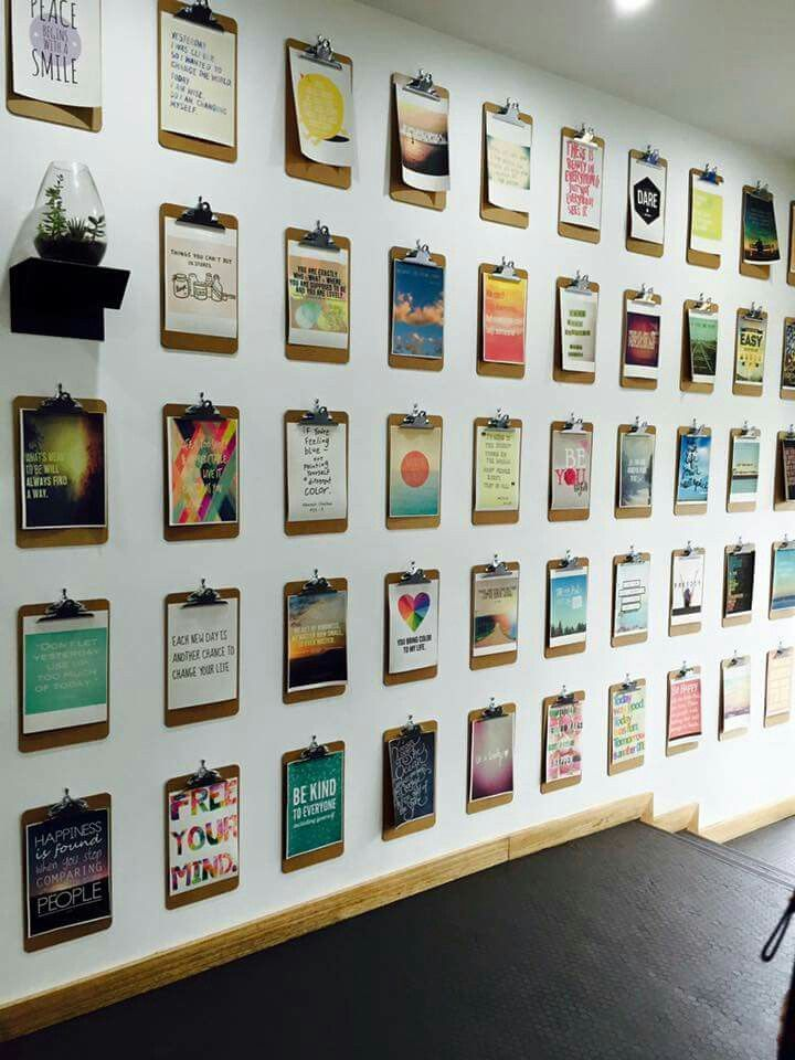 Office Wall Decor Ideas Implausible Best 25 Clipboard On Pinterest