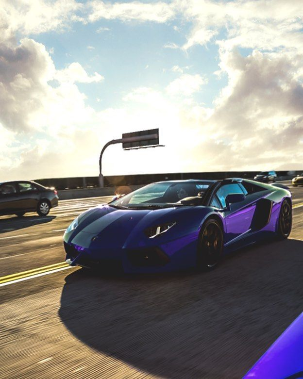 An awesome Virtual Reality pic! Aventador Purple and Cruise  Follow  @firstpersonluxury  @firstpersonluxury  @firstpersonluxury  For more Dope Luxury by firstpersonluxury check us out: http://bit.ly/1KyLetq