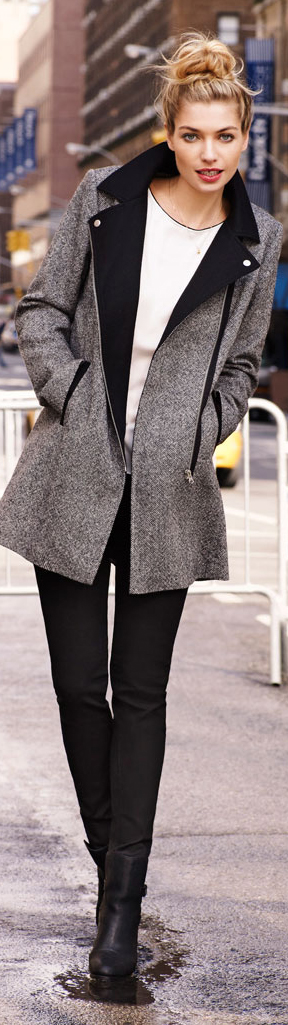 Street style - cute coat