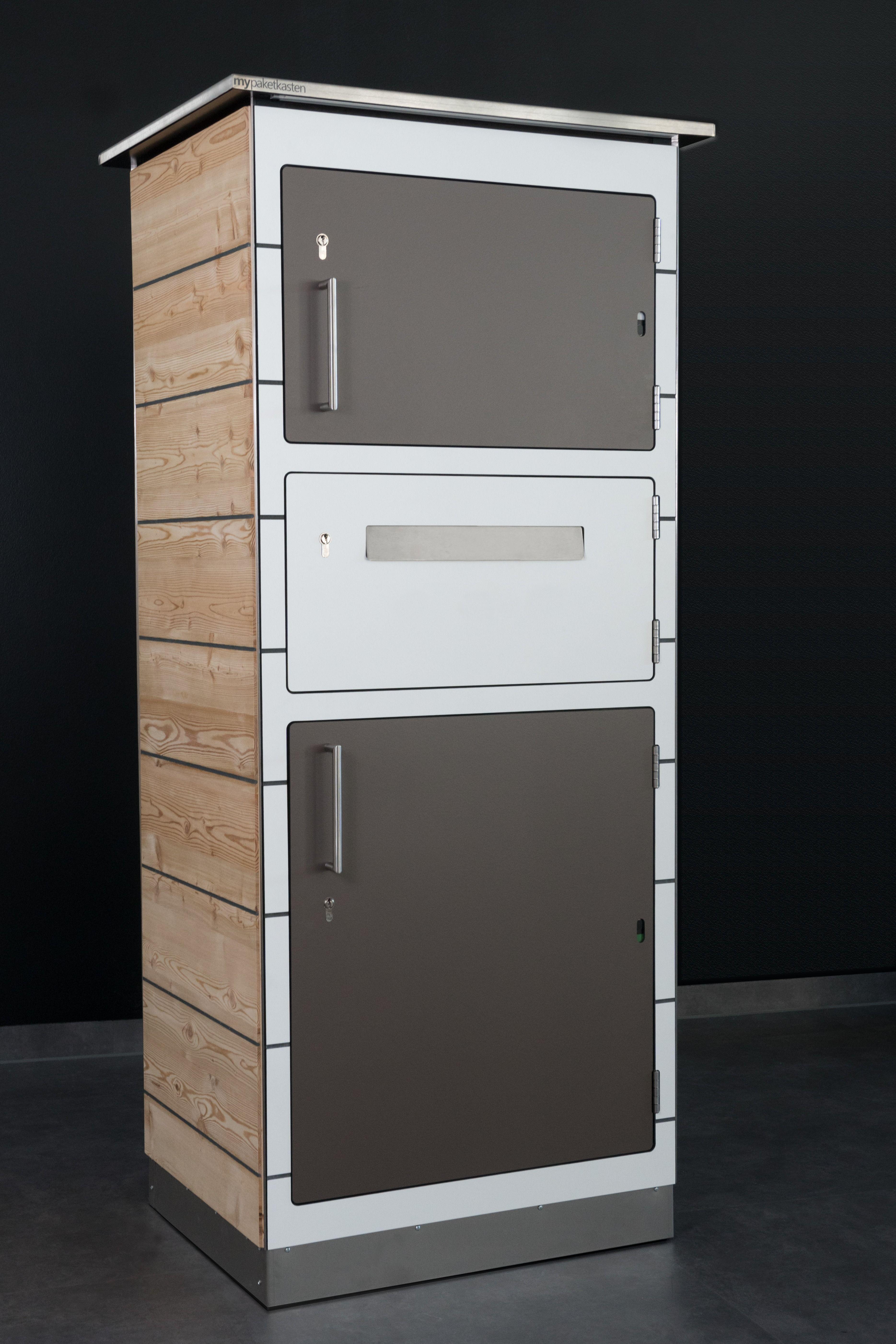 Design Briefkasten für Pakete von Mypaketkasten. Mit
