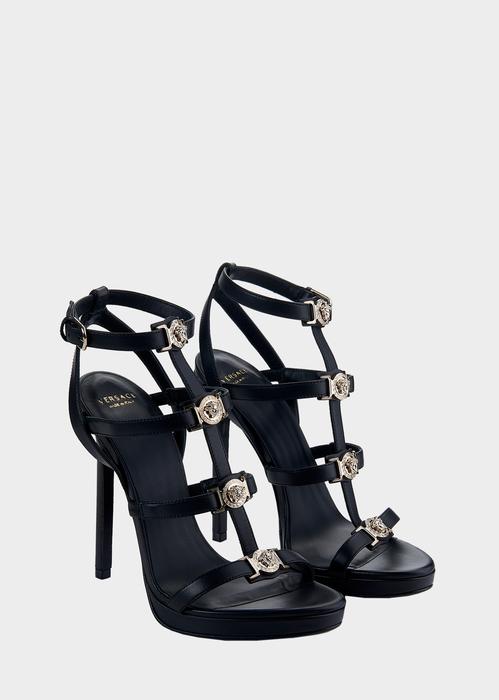 dbf1c12fa17 Versace Signature Medusa Strap Sandal for Women