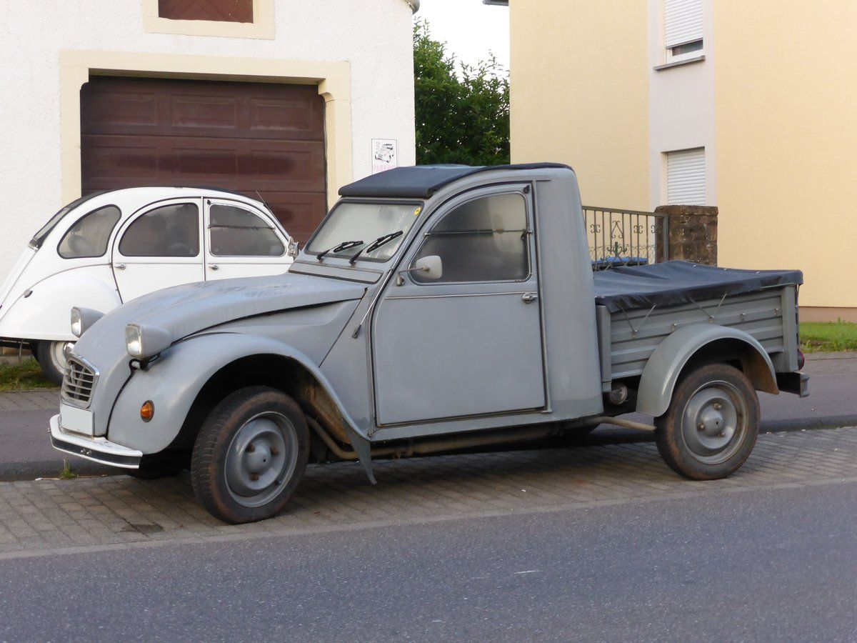 Citroen 2 Cv Pick Up Oldtimer Autos Automobil Pick Up