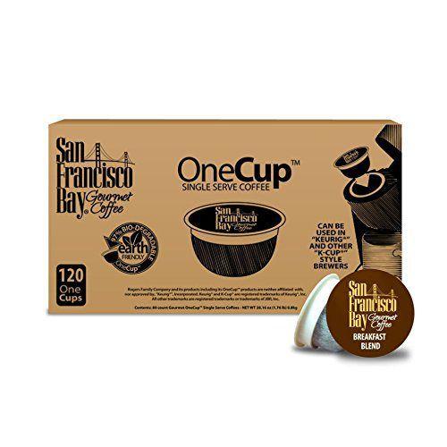 San Francisco Bay OneCup, Breakfast Blend, 120 Single Serve Coffees - http://teacoffeestore.com/san-francisco-bay-onecup-breakfast-blend-120-single-serve-coffees/