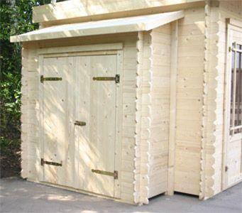 Anbauschuppen für Garten und Gerätehäuser Anbau, Haus