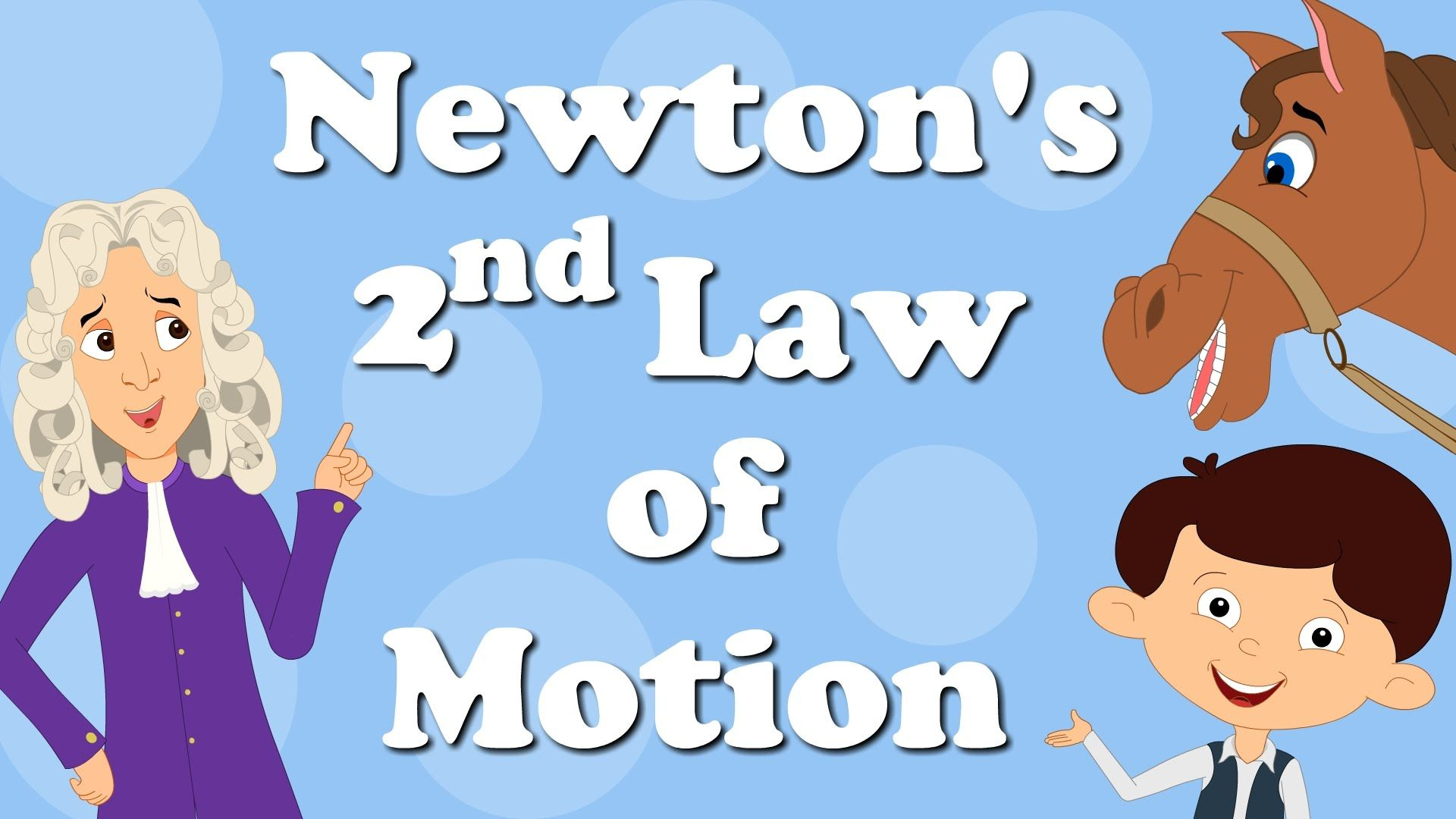 You Will Learn About Newton S 2nd Law Of Motio