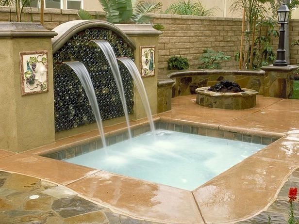hgtv. Nice. Love the soothing sound od running water