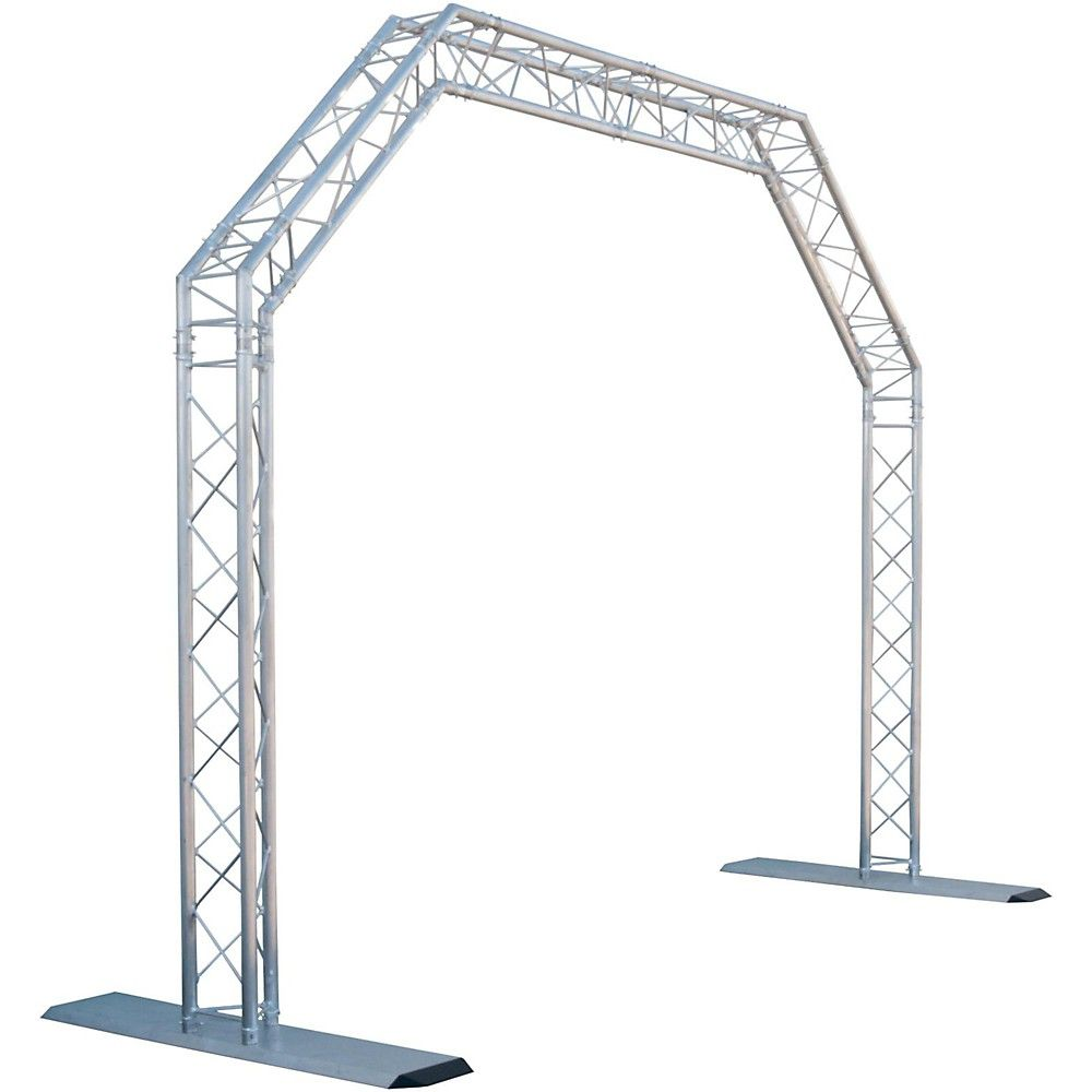Global Truss 10 X 8 Ft Mobile Arch Goal Post Truss System Arch Goals Wall Mount Bracket