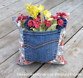 The Enchanting Rose: Bouquet Of Blessings Pillow