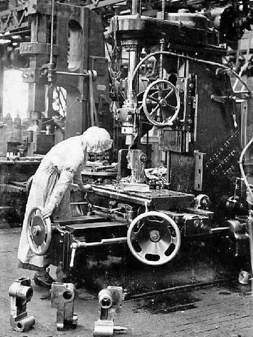 factory work for women during WWI | american history in ...  factory work fo...
