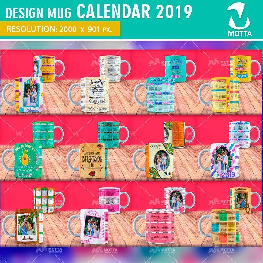 2019 Printable Calendar 2019 Calendar Wall Desk Calendar