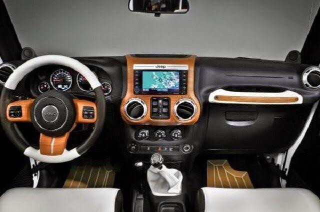 2017 Jeep Wrangler Sport Interior Steering Wheel And Dashboard