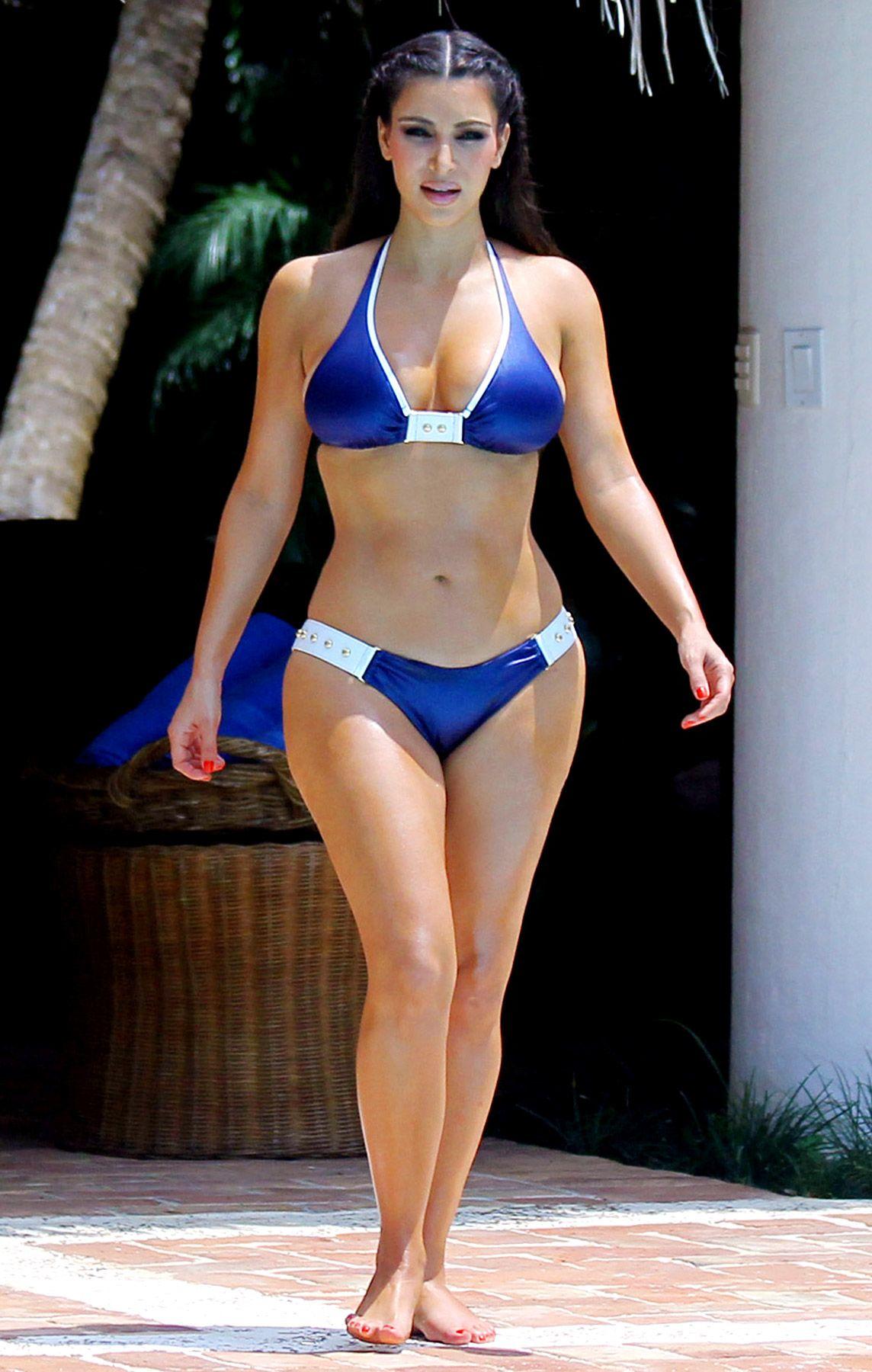 9bc178ab09 The Hottest Celebrity Bikini Bodies  Kim Kardashian