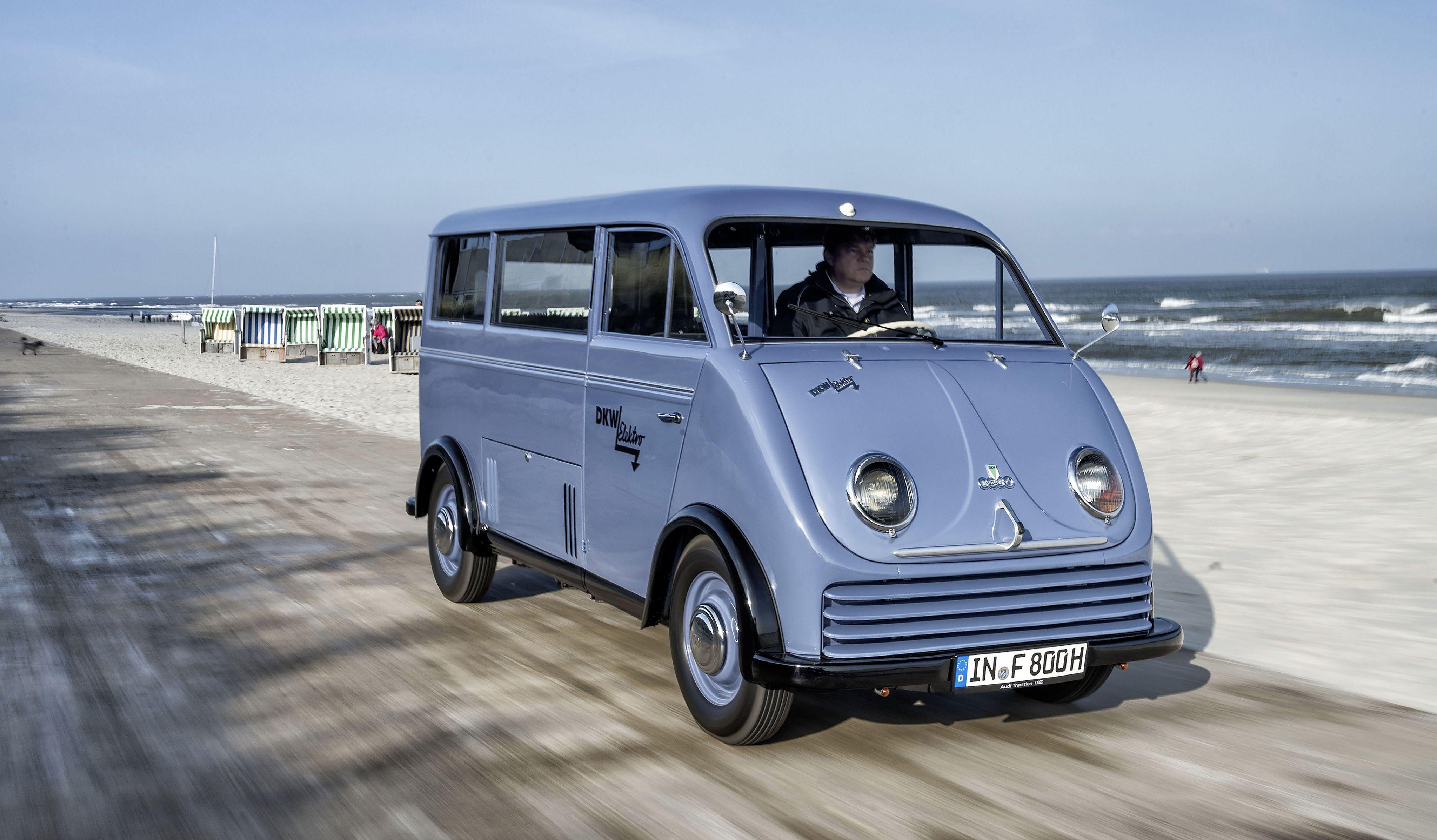 DKW Elektro-Schnellaster \'1956   Автобуси   Pinterest   Vans, Motor ...