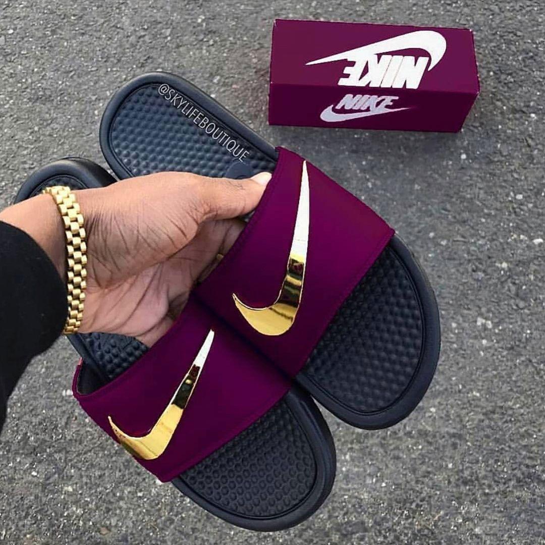 Nike slippers, Jordan shoes girls