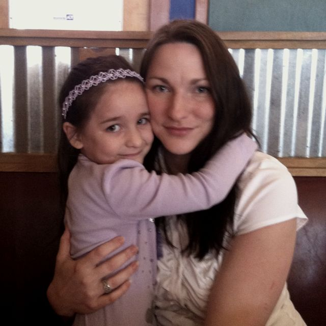 Mommy and Abby