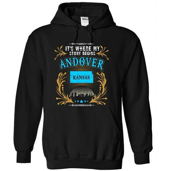 Andover - Kansas is Where Your Story Begins 2103 - #unique gift #handmade gift. MORE INFO => https://www.sunfrog.com/States/Andover--Kansas-is-Where-Your-Story-Begins-2103-6734-Black-31710941-Hoodie.html?68278