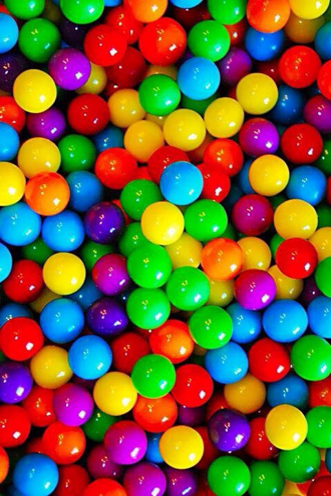 Wallpaper Iphone Colors Balls With Images Rainbow Rainbow