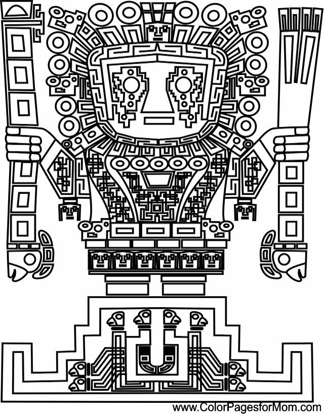 Southwestern Coloring Page 16