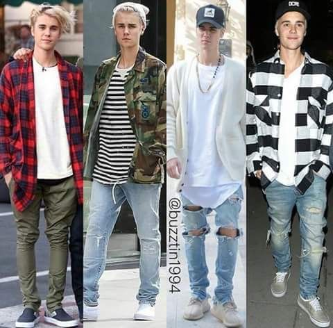 Which is your favorite beiber style all justin bieber pinterest justin bieber Fashion style justin bieber