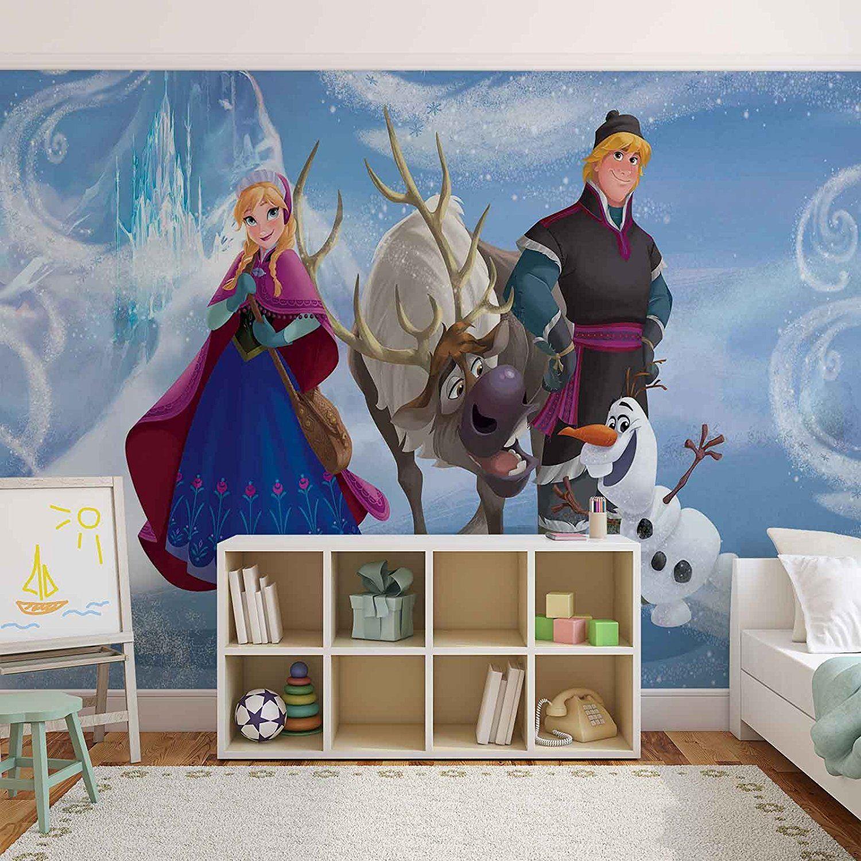 ❄ Frozen Kinderzimmer: Disney Frozen Eiskönigin Anna Kristoff ...