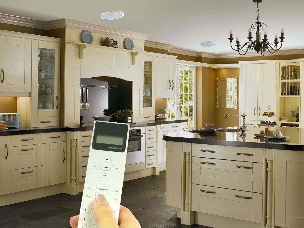 kitchen speakers unique countertops kb sound space ceiling speaker system now available with bluetooth receiver and various configurations including different room