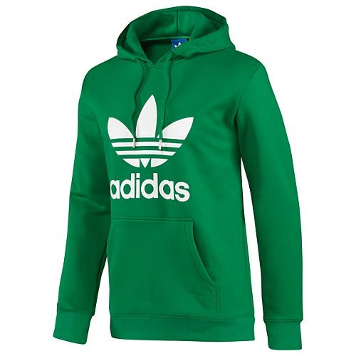Adidas - Adidas Originals Trefoil Hoodie in Fairway White (size Medium) b9f0014f5740