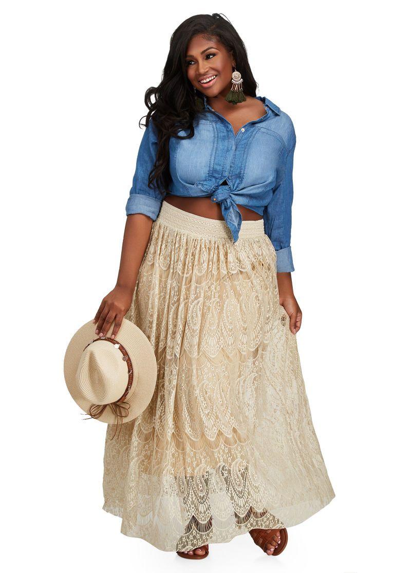 Paisley lace maxi skirt hello stylist friend pinterest lace