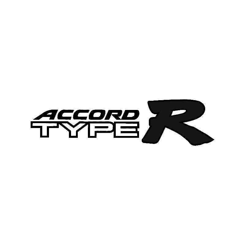 Honda Accord Type R Vinyl Decal Sticker Honda Accord - Honda accord decals stickers