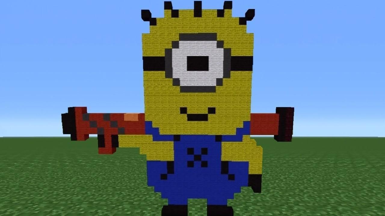 Amigurumisfanclub Kevin : Minecraft minions google search minions pinterest