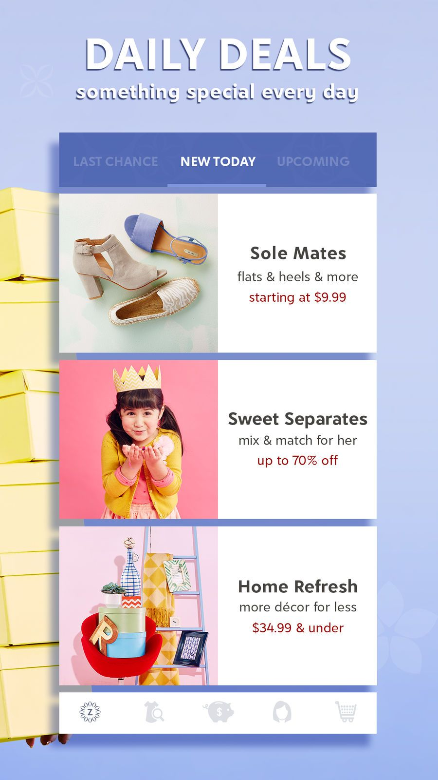 zulily Shopping App for Moms on the App Store App