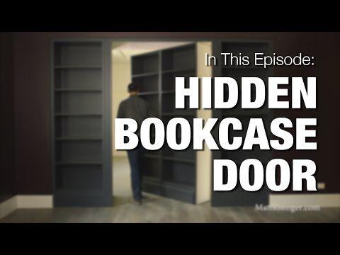 foto de DIY: How to build a bookshelf in a door - YouTube … | Bookcase ...