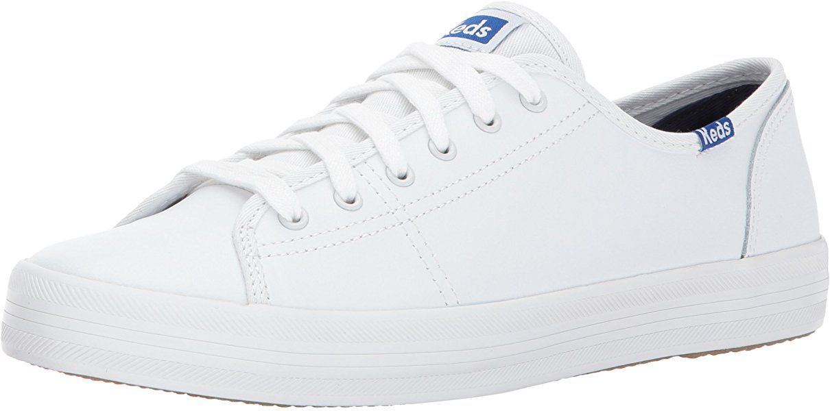 White leather sneakers, Leather fashion