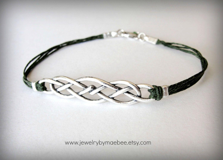 Celtic Knot bracelet Outlander Celtic jewelry Scottish bracelet ...