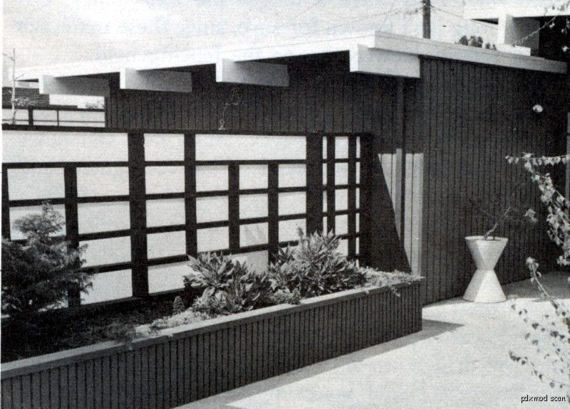 169 1958 Book Diy Build Fences Amp Gates Mid Century Modern