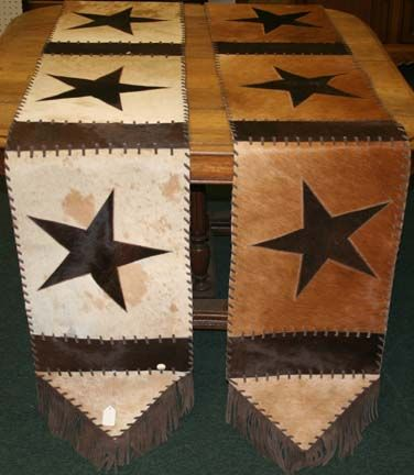 Cowhide Table Runner