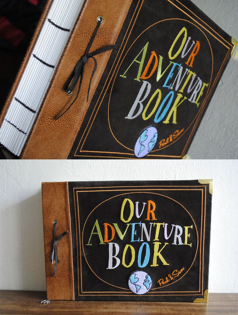 Our Adventure Book This Would Be So Cute As A Diy Cover For A
