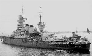 Andrea Doria - The Andrea Doria survived World War 1 and World War 2, eventually seeing retirement in 1958.