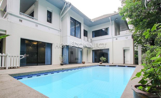 Beautiful 4 Bedroom House For Rent In Chaengwattana Area Renting A House House Condos For Rent