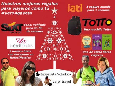 Sorteo Navideño.... regalos para viajeros como tú! Participa http://basicfront.easypromosapp.com/p/176610