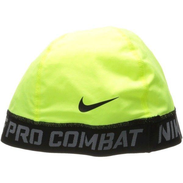 Nike Pro Combat Banded Skull Cap 2 0 Volt Caps Nike Pro Combat Nike Cap Nike Pros