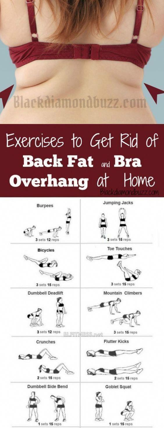 Photo of Übungen, um Rückenfett und BH-Überhang zu Hause loszuwerden. Hier eingeschlossen ist wie