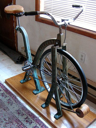 Restored 1920s Everlast Exercise Bike Things Pinterest Retro