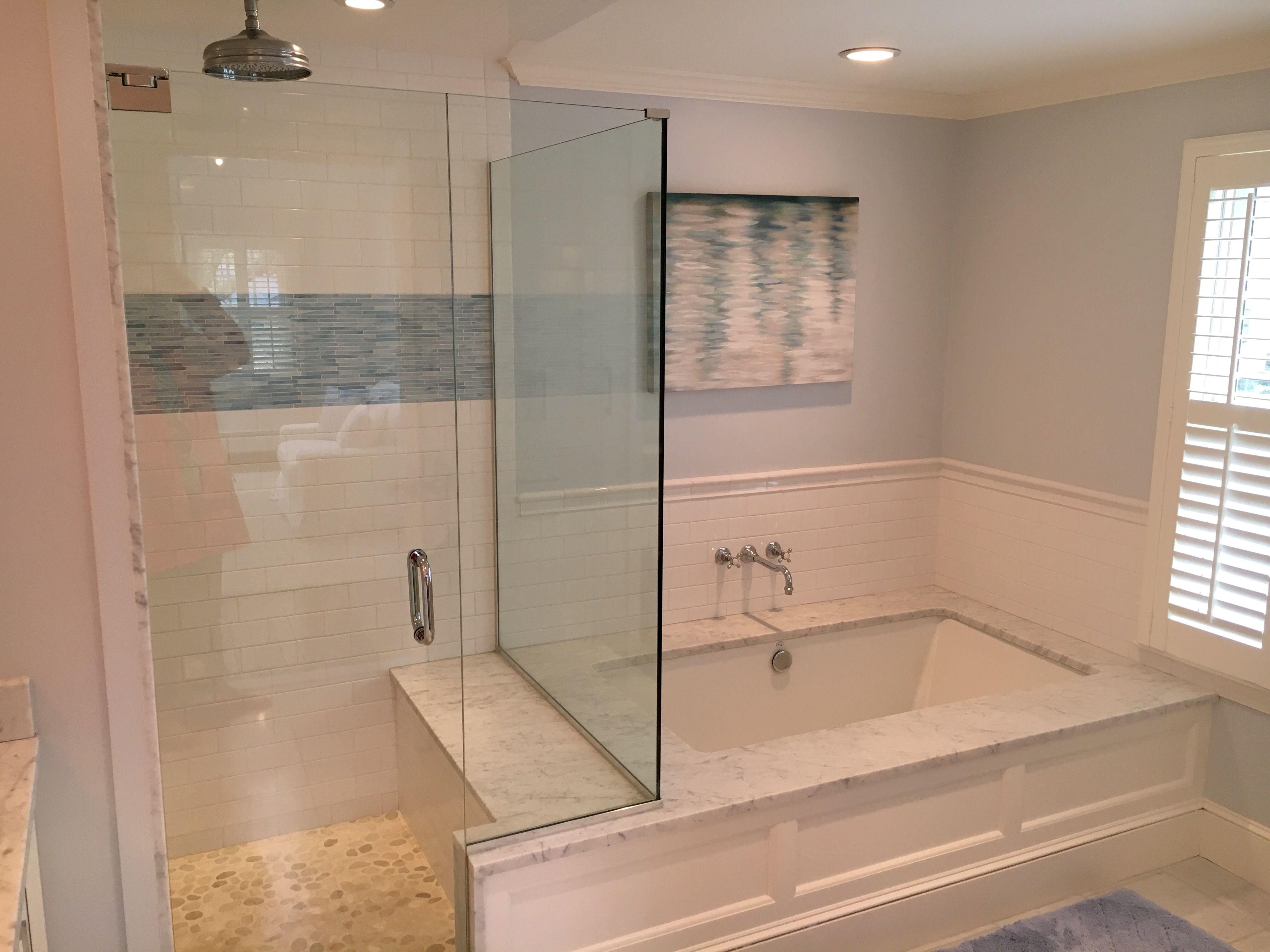 Master Bathroom Shower Tub Remodel