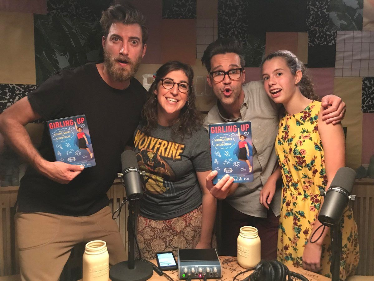 Man Lily S Growing Up She S Almost As Tall As Link Good Mythical Morning Rhett And Link Gmm