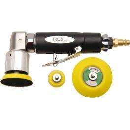 Mini lijadora ángular neumática Mini lijadora ángular neumática, con 3 disco de sujeción con velcro para discos de 30, 50, 70 mm. www.motortool.es
