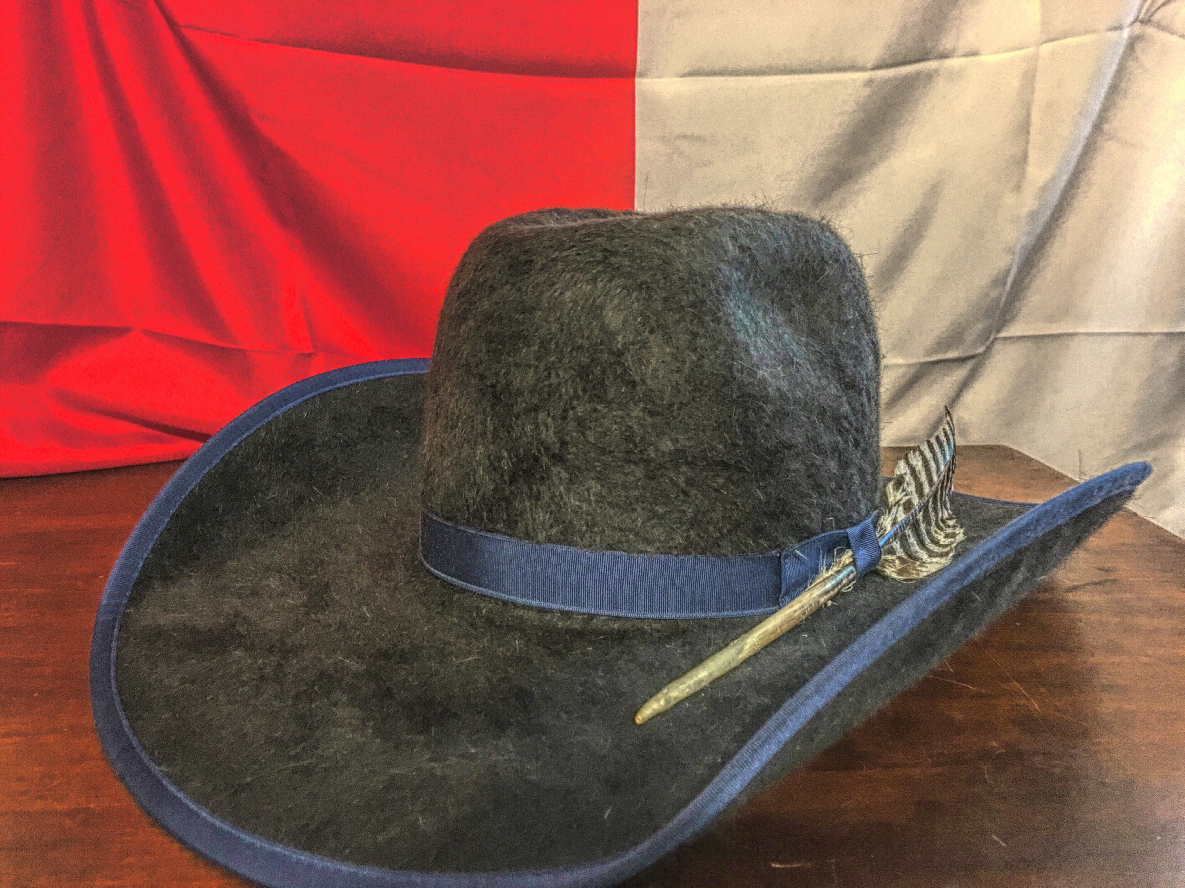 c9fc9d41b03 My new American Hat Co. charcoal Grizzly 20X felt. Minnick shape crown with  a wide brim front.